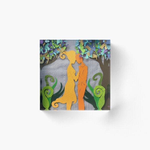 Summer Kiss #3 Acrylic Block