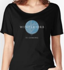 Stax - Winter Orb Women's Relaxed Fit T-Shirt