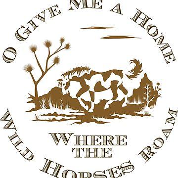 Wild Horses Roam by Horseworks