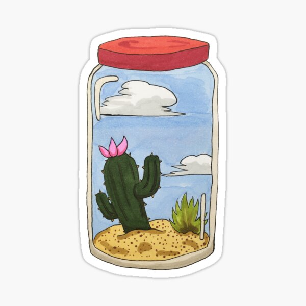 Desert in a Jar Sticker