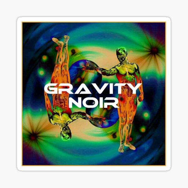 Gravity Noir by Andrew Williams Sticker