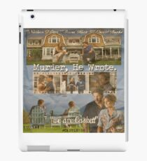 Castle - Murder, he wrote iPad Case/Skin