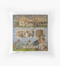 Castle - Murder, he wrote Throw Pillow