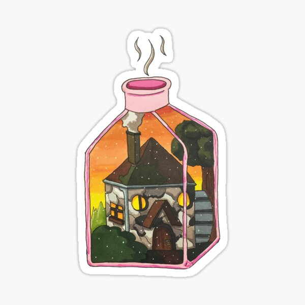 Cozy Cottage Sticker