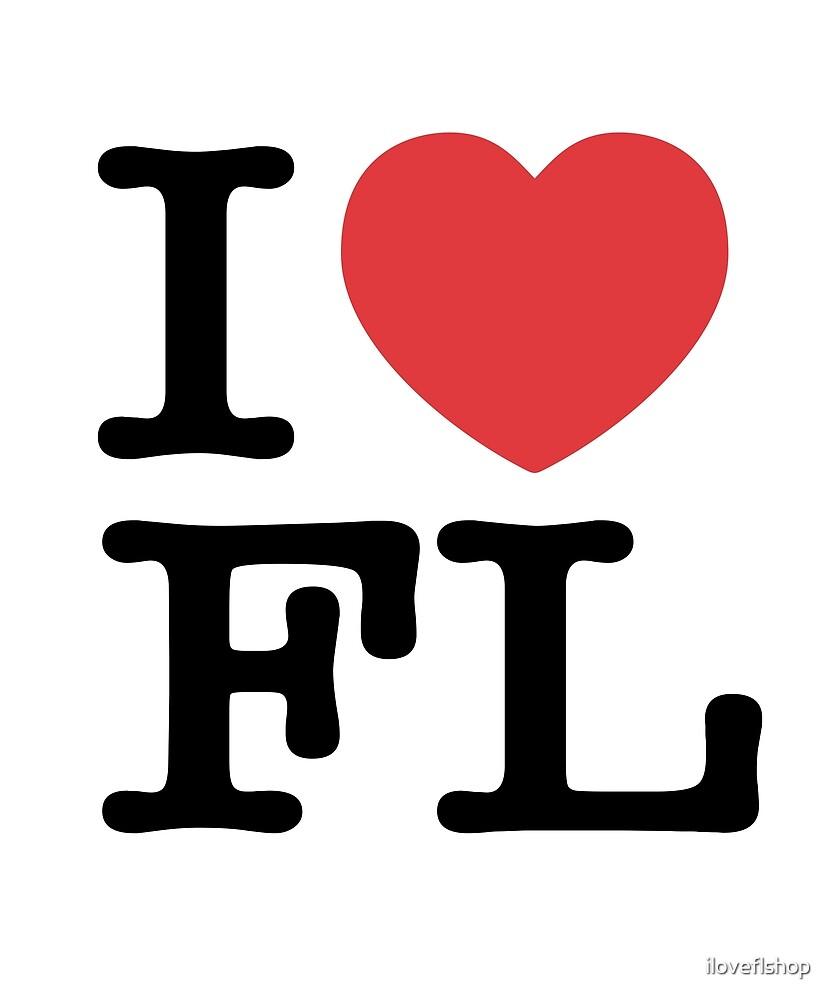 I Heart FL Love Florida by iloveflshop