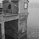 Cabin at the End of the Pier by Buckwhite