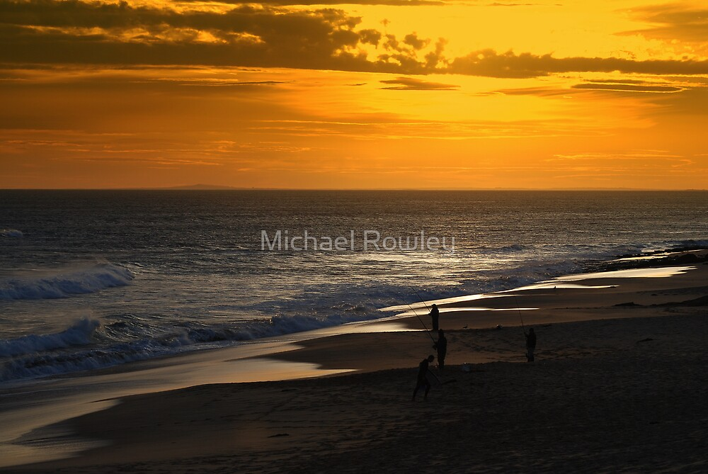 Surf Fishing by Michael Rowley