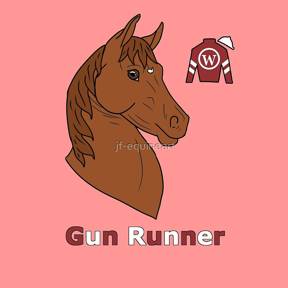 Gun Runner by jf-equineart
