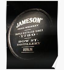 Jameson Irish Whiskey Poster