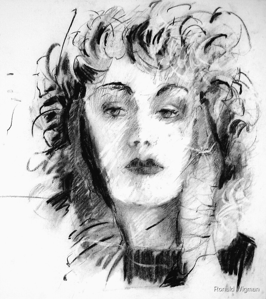 Portrait 03 by Ronald Wigman