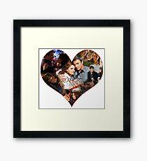Caskett Always Heart Framed Print