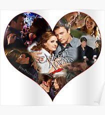 Caskett Always Heart Poster