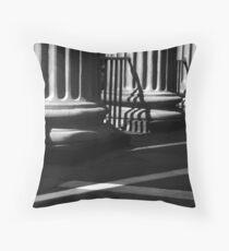 Randolph Hall Columns & Shadows Throw Pillow