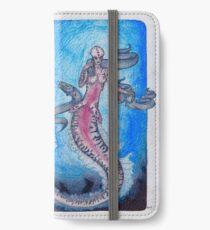 Eel mermaid iPhone Wallet