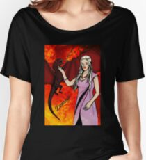 Daenerys Targaryen - colour Women's Relaxed Fit T-Shirt