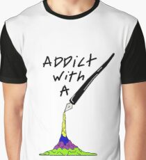 Addict Graphic T-Shirt