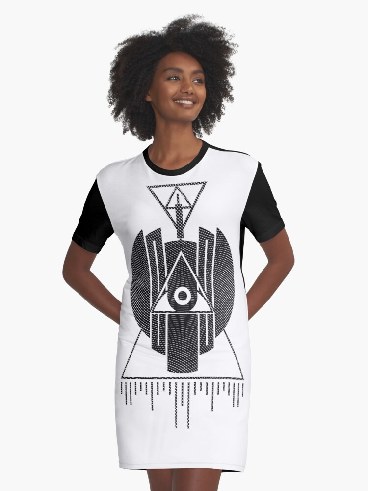 Epitaph  Graphic T-Shirt Dress Front