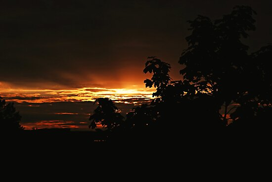Burning Evening by Jay-Autumn