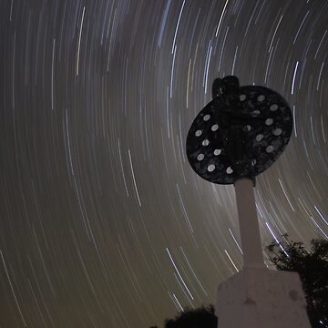Star Trails at Mt Kaputar by supertin
