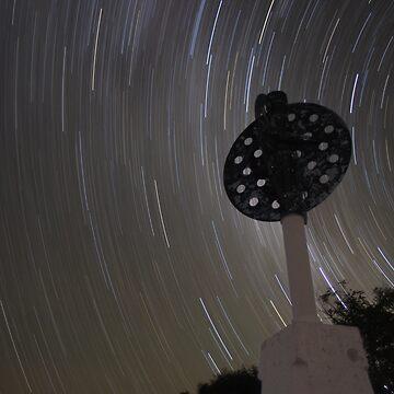 Star Trails at Mt Kaputar by supertin