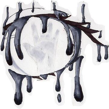 Handprint Drip by DaFangirl