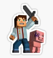 Minecraft: Story Mode Sticker