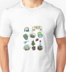 Little plants sticker set Unisex T-Shirt