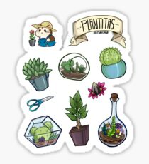 Little plants sticker set Sticker