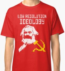 Marxism - A Low Resolution Ideology Classic T-Shirt