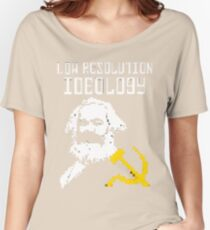 Marxism - A Low Resolution Ideology Women's Relaxed Fit T-Shirt