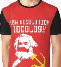 Marxism - A Low Resolution Ideology Graphic T-Shirt