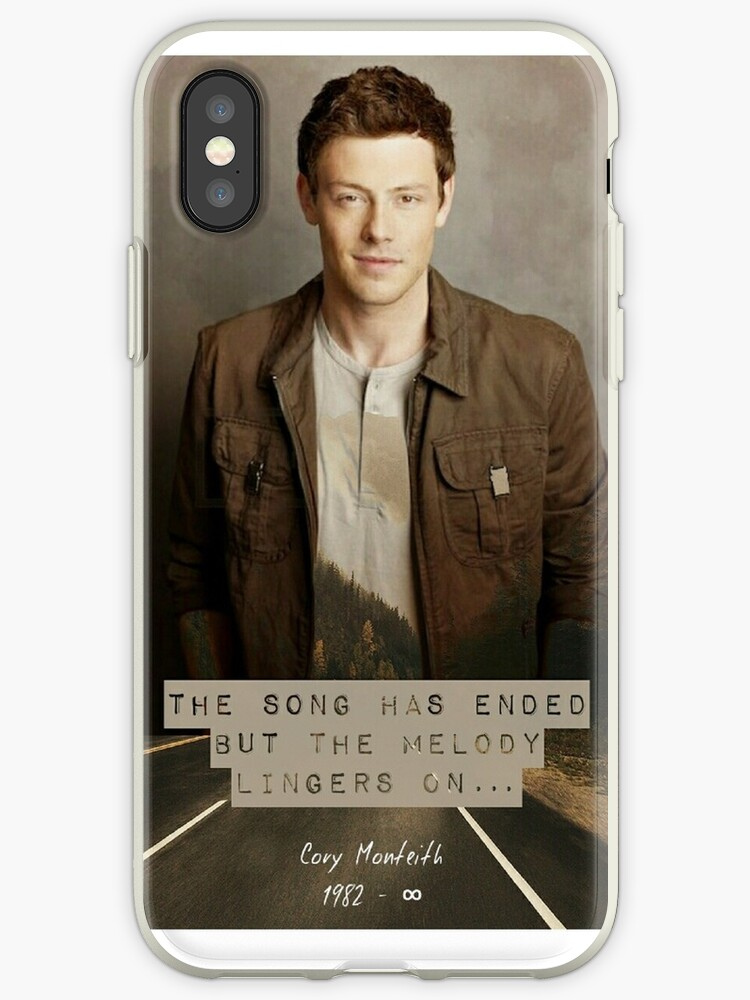 Cory Monteith Phone Case by BeckalouDarling