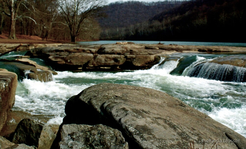 down at the falls by melynda blosser