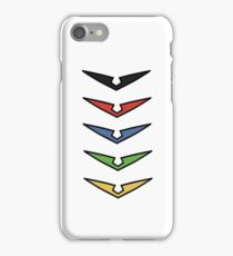 Voltron Suit Logo/Design - [All 5 Paladins] iPhone Case/Skin