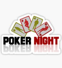 Poker Night Sticker