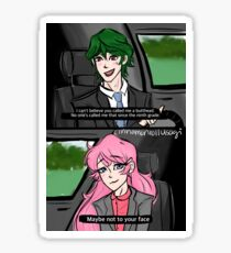 Legally Blonde Akorima Sticker