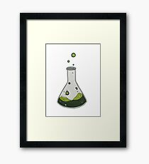 Toxic Contents Framed Print