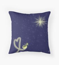 Ray and Evangeline Throw Pillow