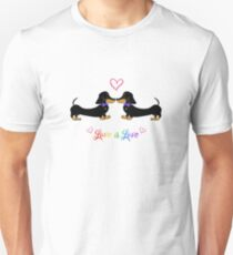 Love is Love, Bow Ties Unisex T-Shirt