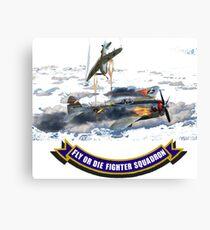Fighter Squadron Canvas Print