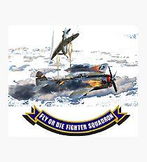 Fighter Squadron Photographic Print