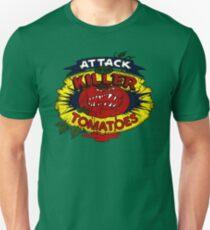 Angriff der Killer-Tomaten Slim Fit T-Shirt