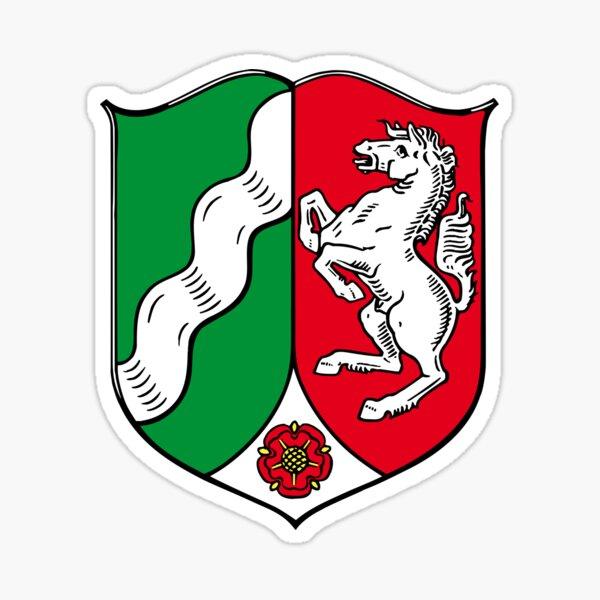 North Rhine-Westphalia coat of arms (Germany) Sticker