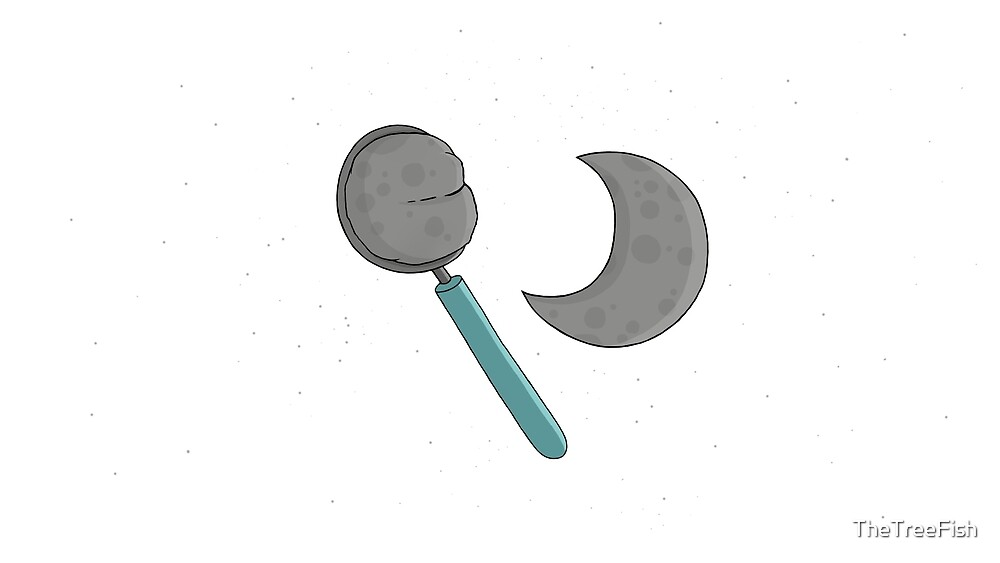 Scoop of the Moon by TheTreeFish
