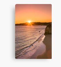 Praia da Rocha in Portimao, Algarve Canvas Print