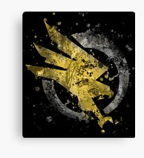 Command and Conquer - GDI Splatter Canvas Print