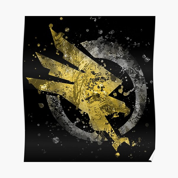 Command and Conquer - GDI Splatter Poster