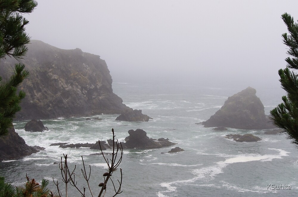 Oregon coast USA by KSwhite