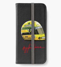Ayrton Senna tribute 1 iPhone Wallet/Case/Skin