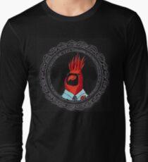 Joe Cardinal the Cool Red Bird Long Sleeve T-Shirt